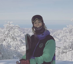 Charlotte, private Ski and snowboard instructor for Ben&Joe's in Klosters has taught worldwide!