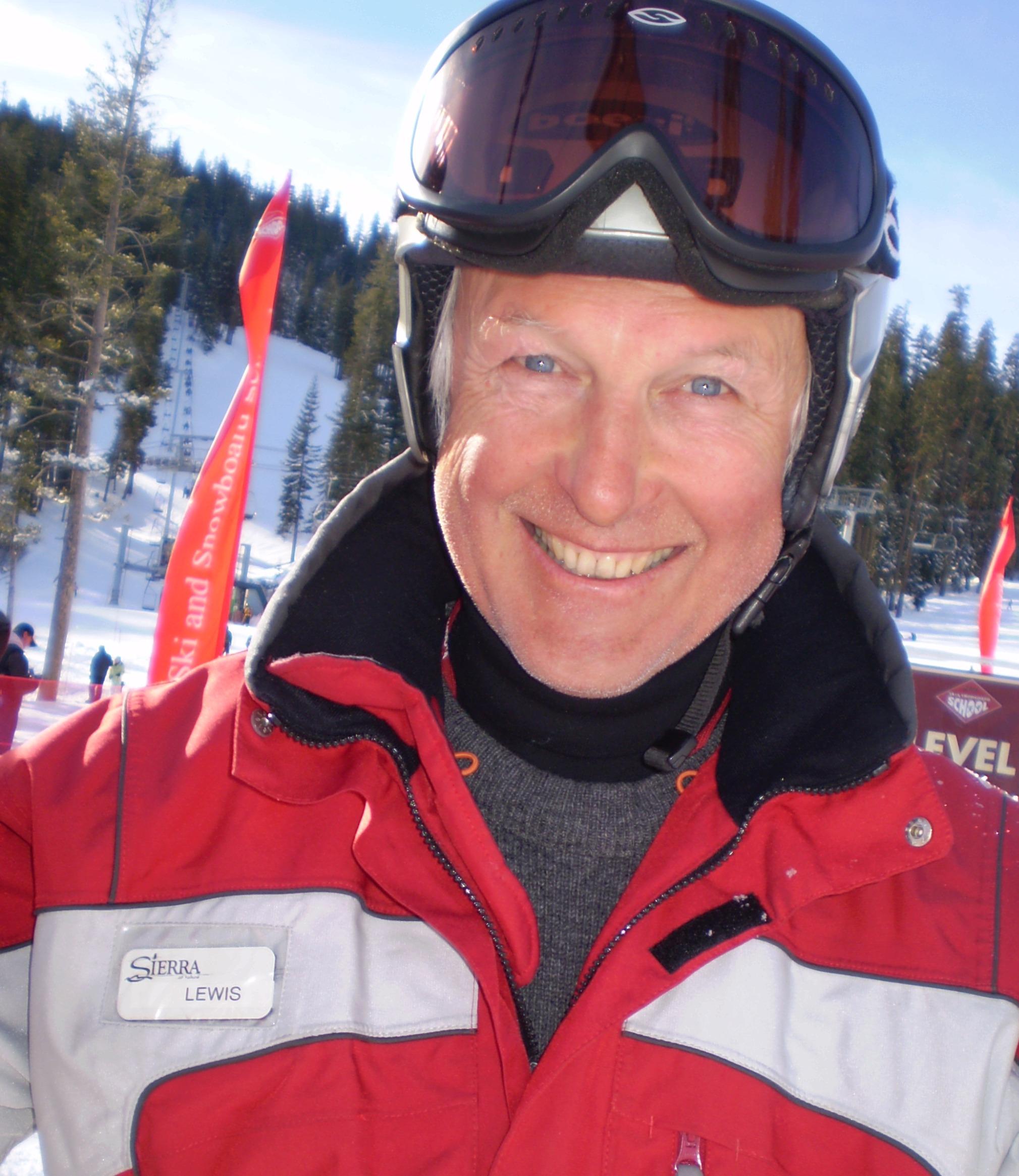Lewis, privat Ski Lehrer für Ben&Joe's, Ski Schule in Klosters und Davos kommt aus Australien!