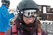 """Gitty Fardjam, privat Snowboard und Ski Instuktor für Ben&Joe's, Ski und Snowboard Schule in Klosters and Davos bringt Sie weiter. 'Wer am meisten Spass hat, gewinnt""""!"""