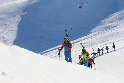 Off-Piste skiing und snowboarden mit Wim in den Bergen um Klosters und Davos!