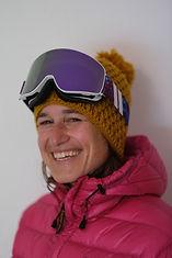 Martina, ski, snowboard und yoga Instruktor in Klosters and Davos und Contemplative Psychotherapist & Performance Psychologist, MA