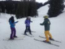 Casper Ski Instructor working his magic!