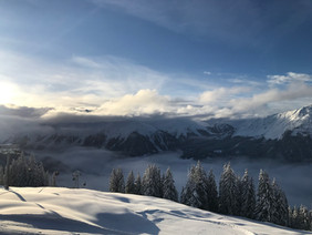 The beauty of the Davos-Klosters Mountains.