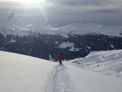 Löse deine inneren Blockaden, werde eins mit deinen Skis/Snowboard und dem Berg. Lebe im Moment um ein erfüllteres Leben zu führen!