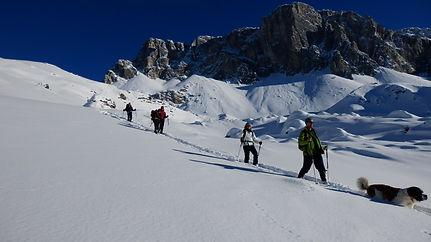 Schneeschuh Touren im wunderschönen St. Antönien und um Klosters und Davos.