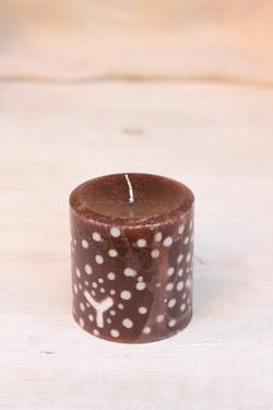 北欧風candle 雪景色