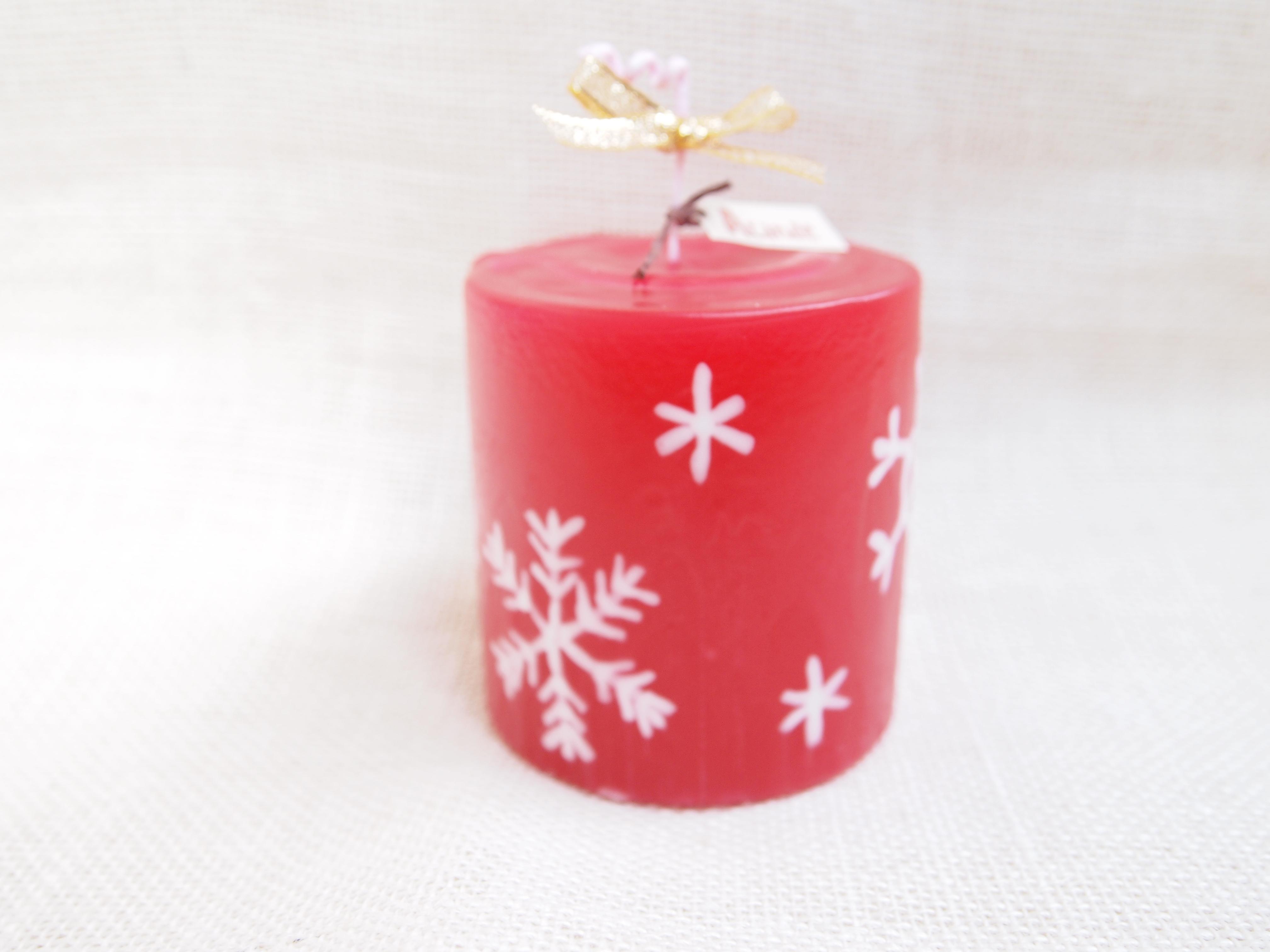 北欧風candle 楽しい雪の日