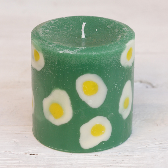 北欧風candle 目玉焼き