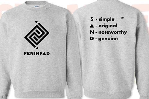 Peninpad (front) + S.O.N.G (back) Sweatshirt