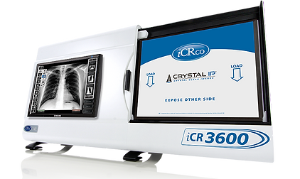 iCR3600 CR Scanner for x-ray using cassettes