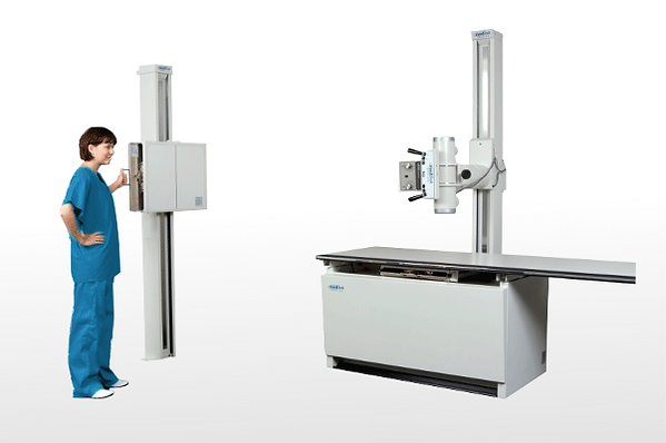 Medical Imaging tube stand and wall stand