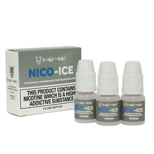 NICO-ICE Nicotine Mixing Solution 3 x 10ml