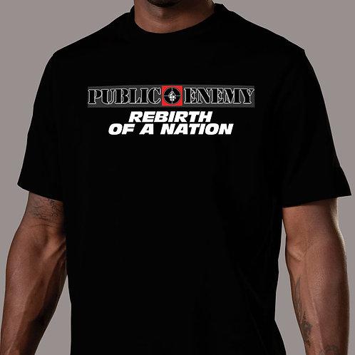 Public Enemy - Rebirth of a Nation Logo T-Shirt