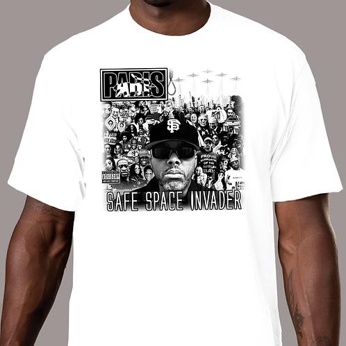 Paris - Safe Space Invader T-Shirt