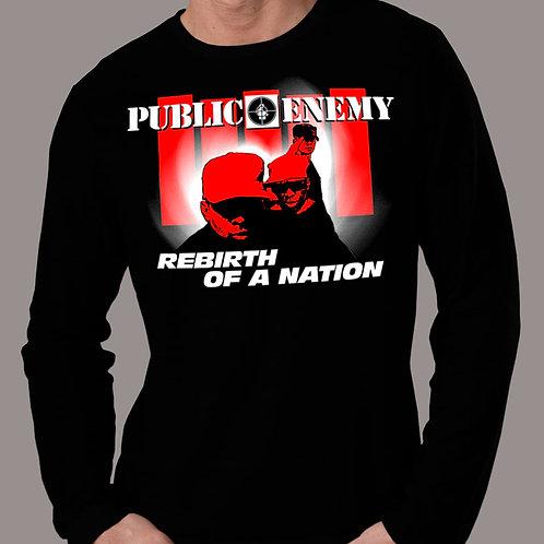 Public Enemy - Rebirth of a Nation - Longsleeve T-Shirt