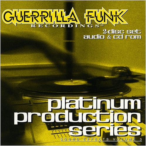 Guerrilla Funk - Platinum Production Series - Vol. 3