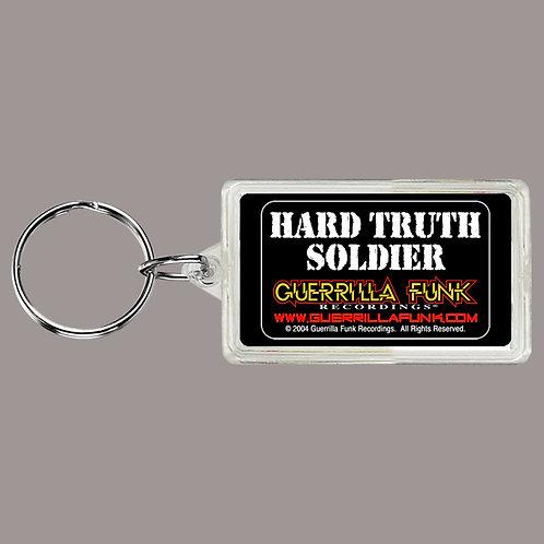 Guerrilla Funk - Hard Truth Soldier Keychain
