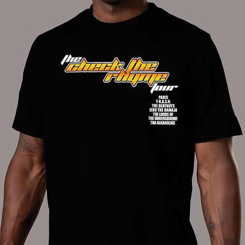 Check the Rhyme Tour T-Shirt