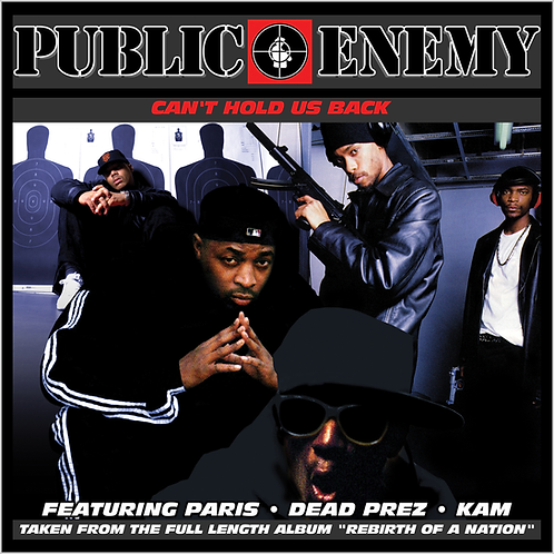 Public Enemy Feat. Paris - Can't Hold Us Back - 12 Inch Vinyl Single
