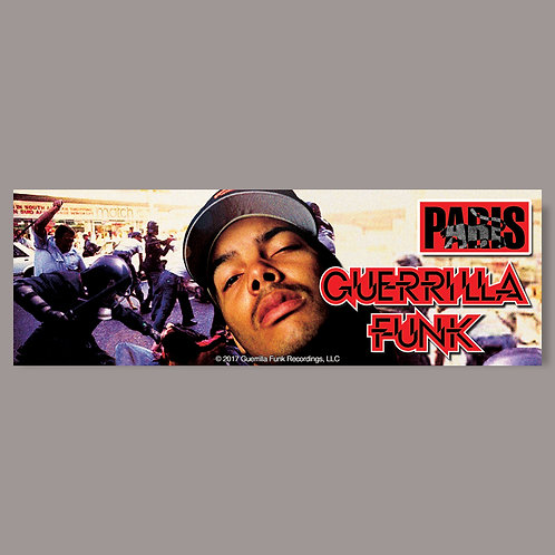 Paris - Guerrilla Funk - Vinyl Sticker