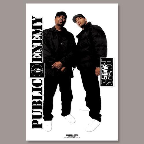 Limited Edition Paris/Public Enemy Poster
