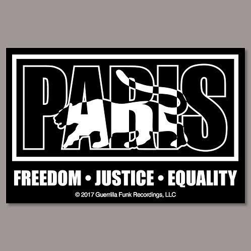 Paris Logo - Vinyl Sticker