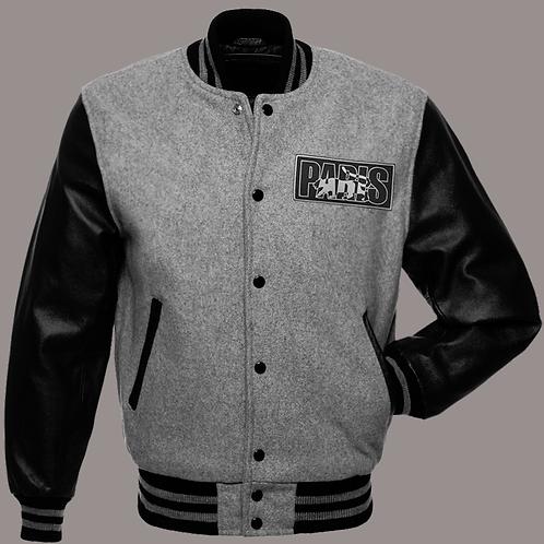 Paris - Logo Varsity Jacket (Grey)