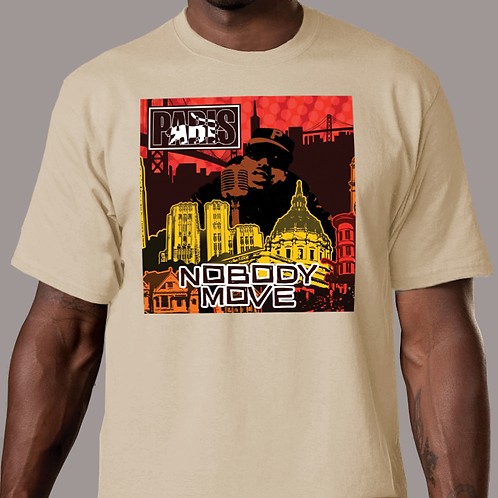 Paris - Nobody Move Tan T-Shirt