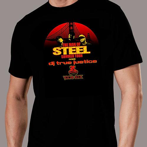 DJ True Justice - Man of Steel T-Shirt