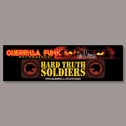Guerrilla Funk - Hard Truth Soldiers - Vinyl Sticker #2