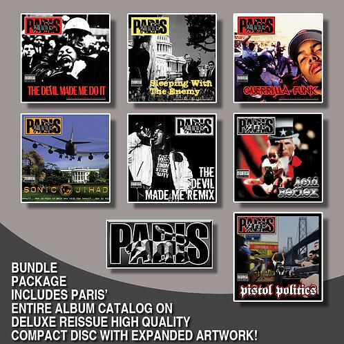 Paris CD Catalog Bundle