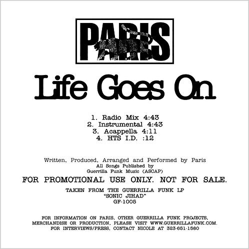 Paris - Life Goes On - CD Single