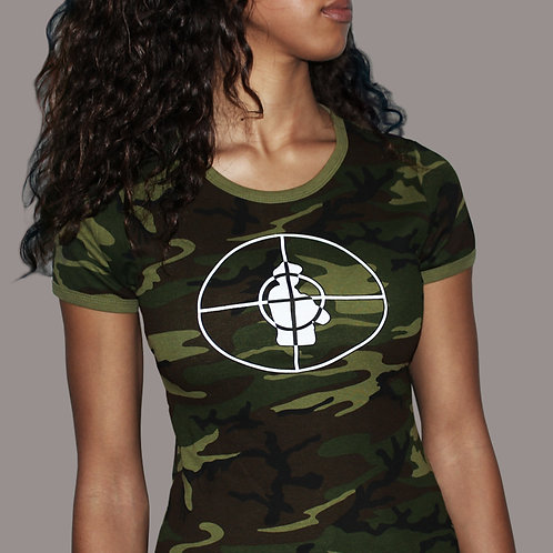Public Enemy - Rebirth of a Nation Camouflage T-Shirt