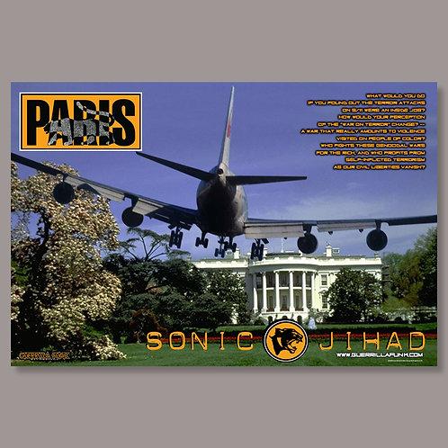 Limited Edition Paris - Sonic Jihad Poster