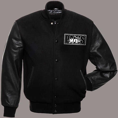 Paris - Logo Varsity Jacket (Black)
