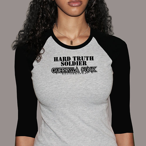 Hard Truth Soldier 3/4 Sleeve T-Shirt