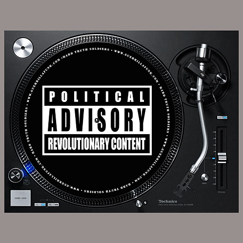 Political Advisory Revolutionary Content Slipmats