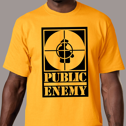 Public Enemy - Rebirth of a Nation Gold T-Shirt