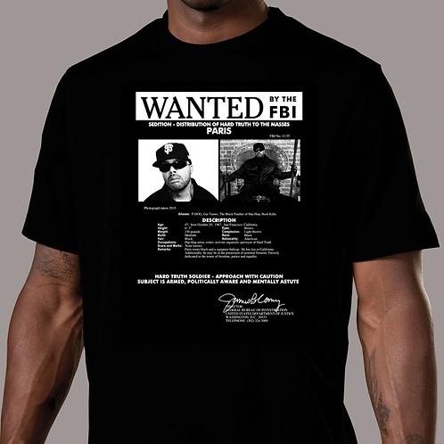 Paris - Wanted T-Shirt