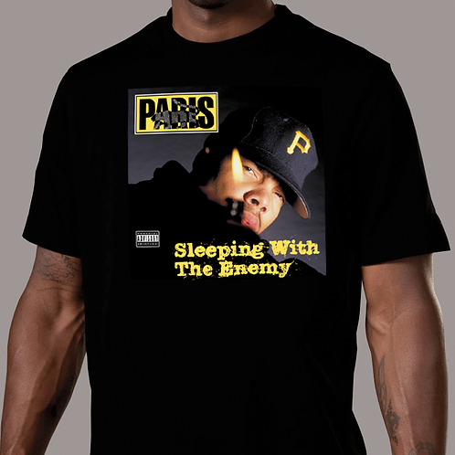 Paris - Sleeping with the Enemy Original Cover T-Shirt