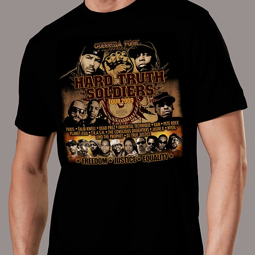Hard Truth Soldiers Tour T-Shirt