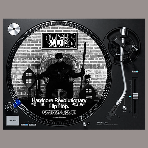 Paris - Hardcore Revolutionary Hip-Hop Slipmats