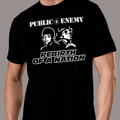 Public Enemy - Rebirth of a Nation 2 T-Shirt
