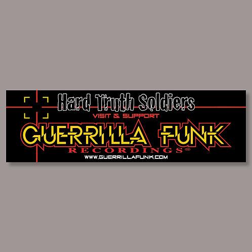 Guerrilla Funk - Hard Truth Soldiers - Vinyl Sticker #1