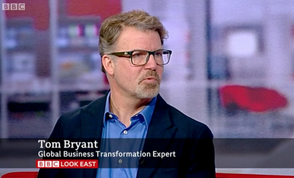 Tom Bryant on BBC Look East