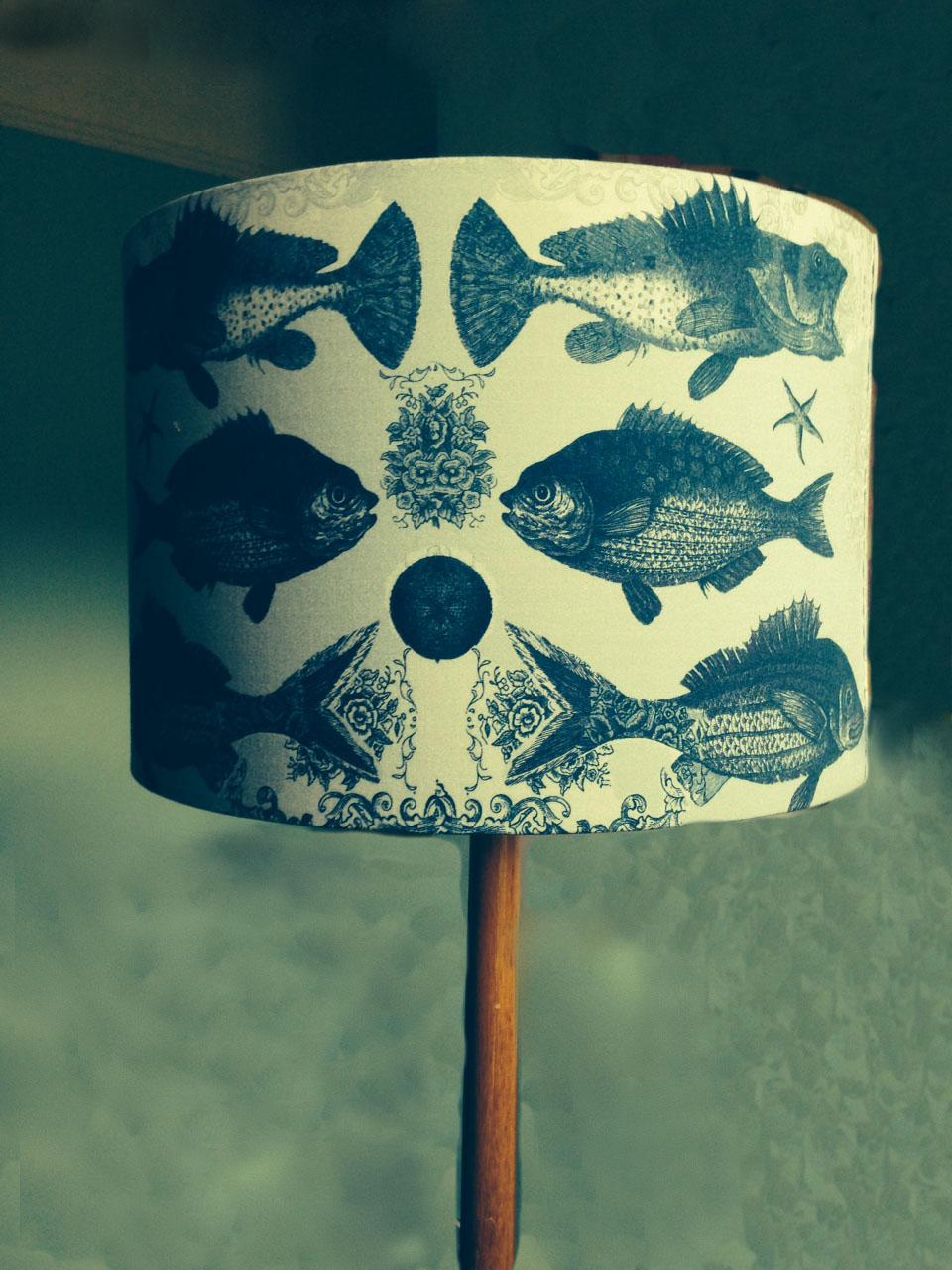 Ugly Fish Lampshade
