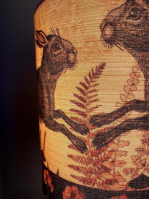 Geranium Hare Lampshade