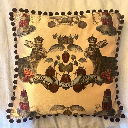 Hare and Jelly Cushion
