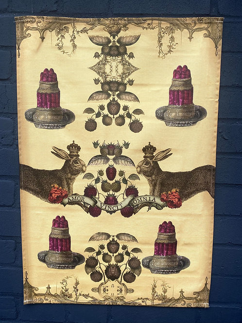 Hare and Jelly T-Towel