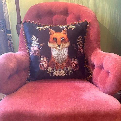 Black Fox Cushion